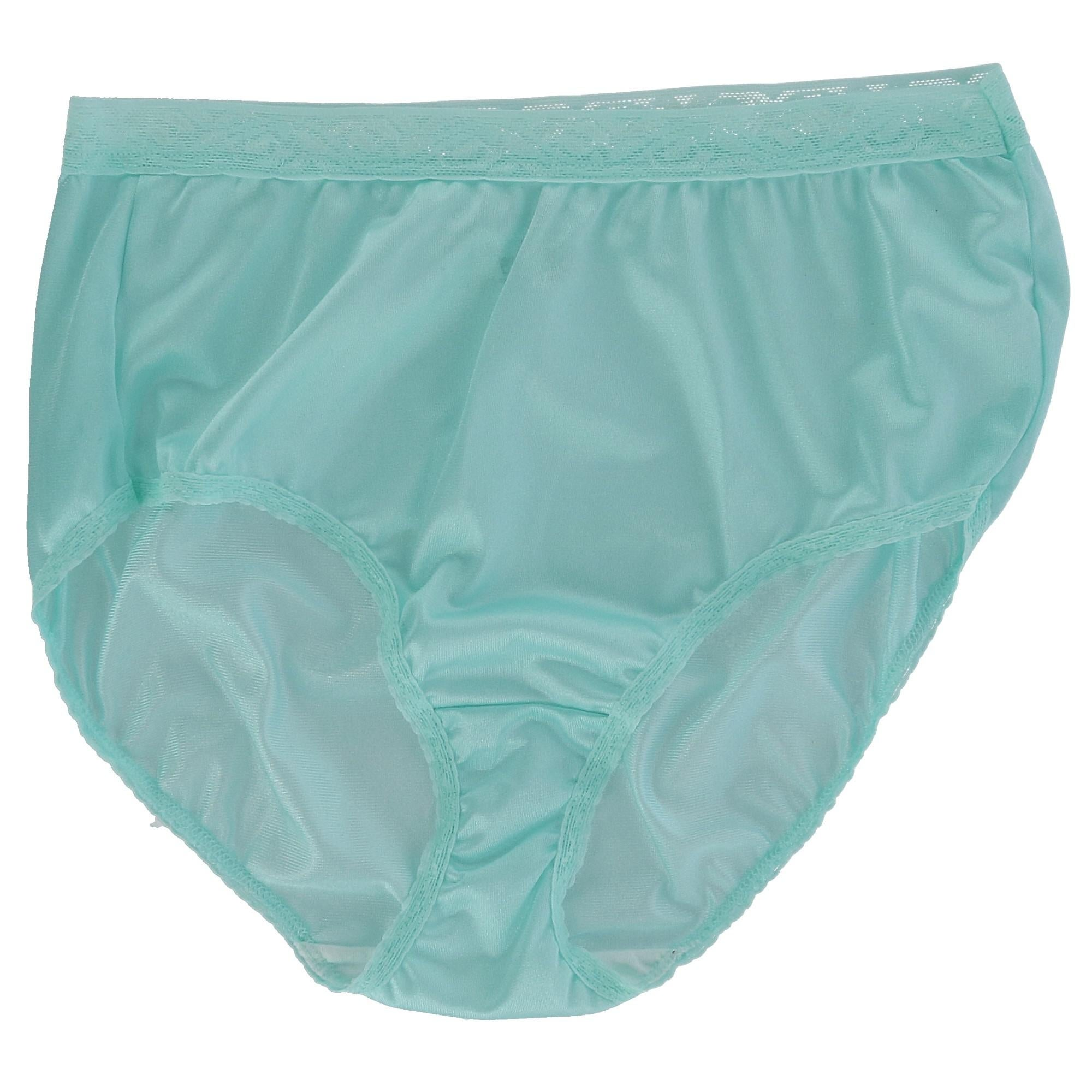 Fruit of the Loom Womens Womens 6 Pack Nylon White Brief Briefs