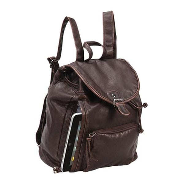 Preferred Nation P2575 The Mason Backpack Brown - US One Size (Size None)
