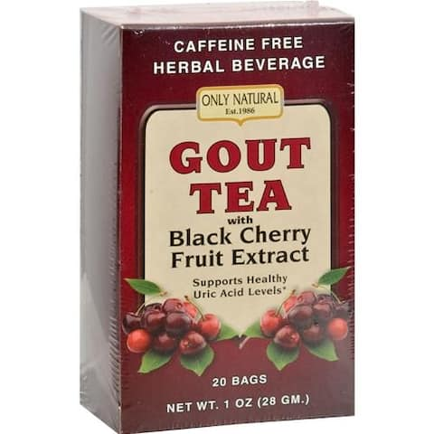 Only Natural - Gout Tea Black Cherry Fruit Extract ( 2 - 20 BAG)
