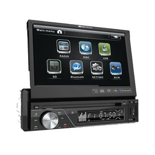 "SoundStream 1-DIN Source Unit w/ Bluetooth & 7"" LCD"