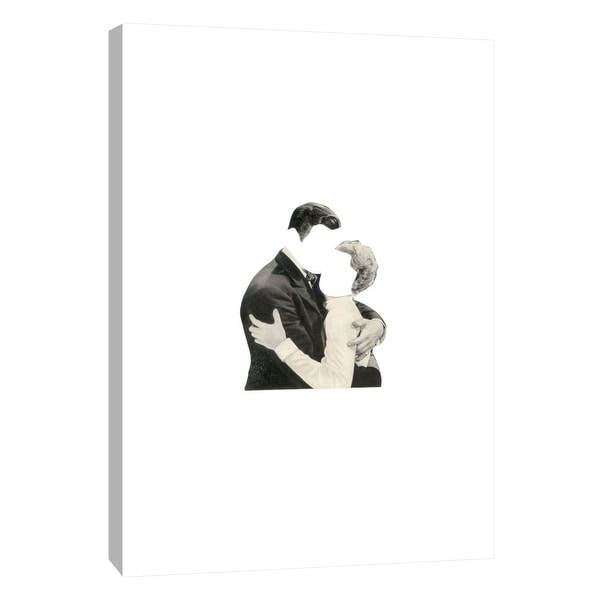 """PTM Images 9-105955 PTM Canvas Collection 10"""" x 8"""" - """"Blind Embrace"""" Giclee Men and Women Art Print on Canvas"""