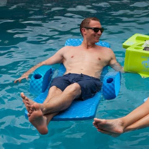 Folding Baja Pool Lounger