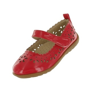 Cookie Smoochie 'Tina' Laser Cut Mary Jane Flat