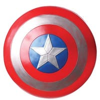 """Captain America 3 Captain America 24"""" Costume Shield Adult One Size - Red"""