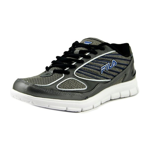 Fila Isotope Men Round Toe Synthetic Silver Running Shoe