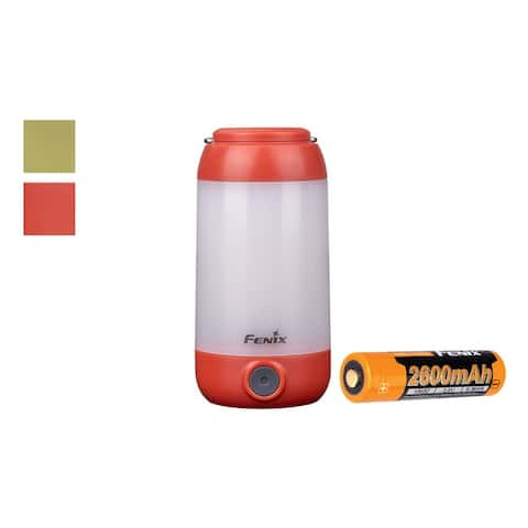 Fenix CL26R 400 Lumen White and Red LED Rechargeable Camping Lantern