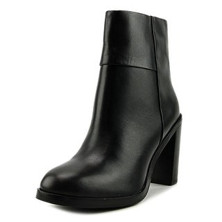 Seychelles Gossip Women  Round Toe Leather Black Ankle Boot
