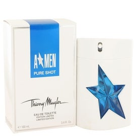 Angel Pure Shot by Thierry Mugler Eau De Toilette Spray 3.4 oz - Men