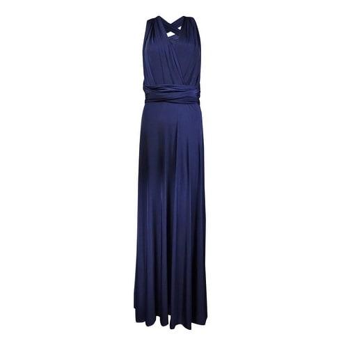 c1e4dd593d Adrianna Papell Women's Convertible Jersey Gown (6, Midnight) - 6