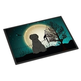 Carolines Treasures BB2271MAT Halloween Scary Briard Black Indoor or Outdoor Mat 18 x 0.25 x 27 in.