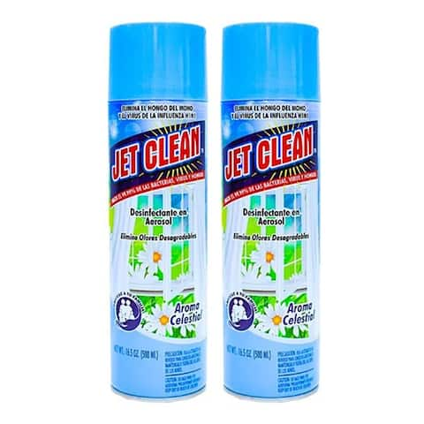 """Purpose Cleaner Spray Celestial Scent by Jet Clean 16.5 oz """"2-PACK"""""""