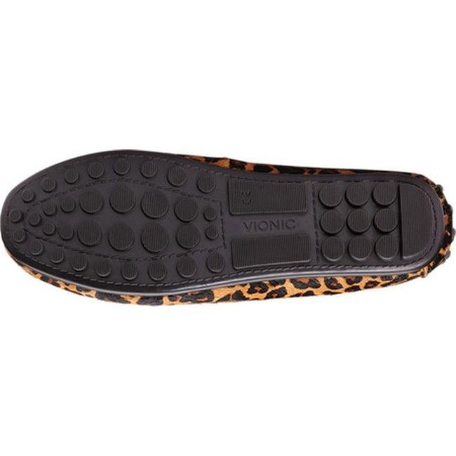 vionic ashby loafer leopard