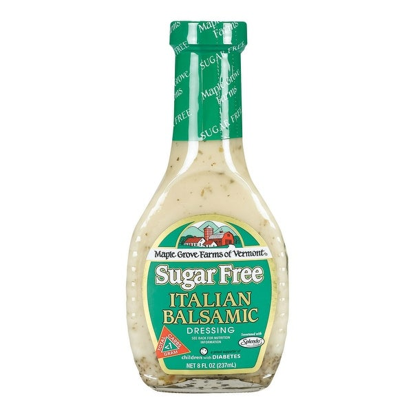 Maple Grove Farms Dressing - Italian White Balsamic - Case of 12 - 8 oz.