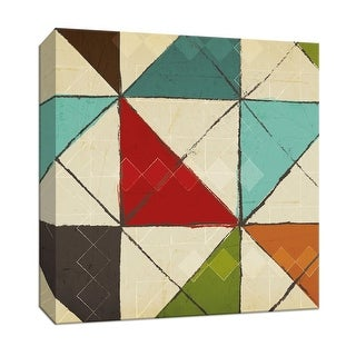 """PTM Images 9-146706  PTM Canvas Collection 12"""" x 12"""" - """"Kaleidoscope II"""" Giclee Patterns and Designs Art Print on Canvas"""