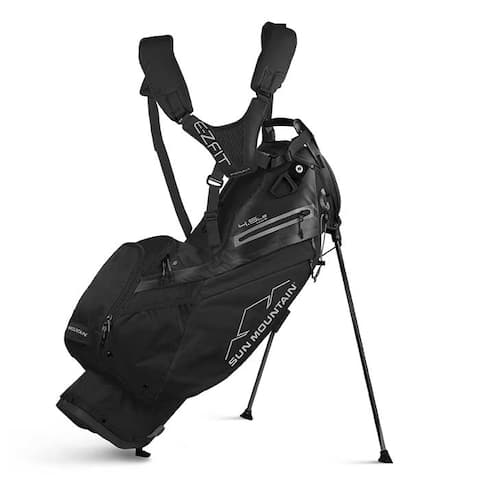 New 2020 Sun Mountain 4.5 LS 14-Way Stand Bag - (Black) - Black