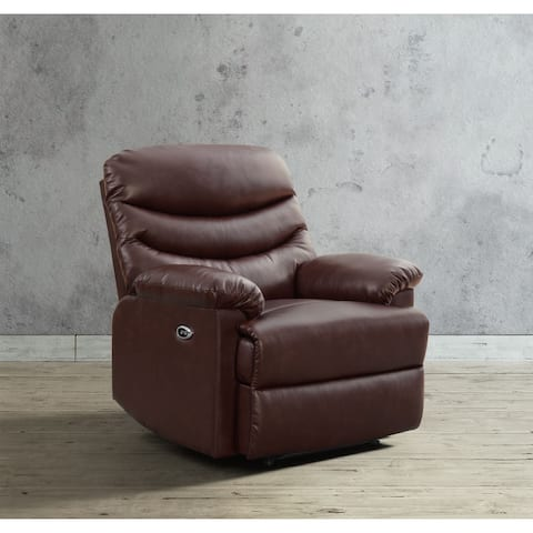 Picket House Furnishings Decklan Power Recliner with USB Port