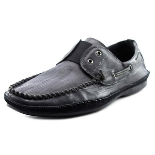 Rogue Free Men Moc Toe Leather Boat Shoe