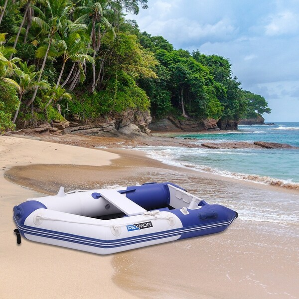 7.5/10FT Inflatable Dinghy Boat Fishing Tender Rafting Water Sports. Opens flyout.