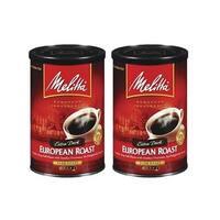 Melitta 60142 European Dark Roast (2-Pack) European Dark Roast Coffee