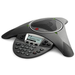 Refurbished Polycom 2200-15600-001 SoundStation IP 6000 POE w/ 12ft Mic Range, Power Supply Excluded