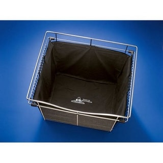 Rev-A-Shelf CHBI-241418-1 CB Series Cloth Hamper Liner for Baskets 24 Inch Wide