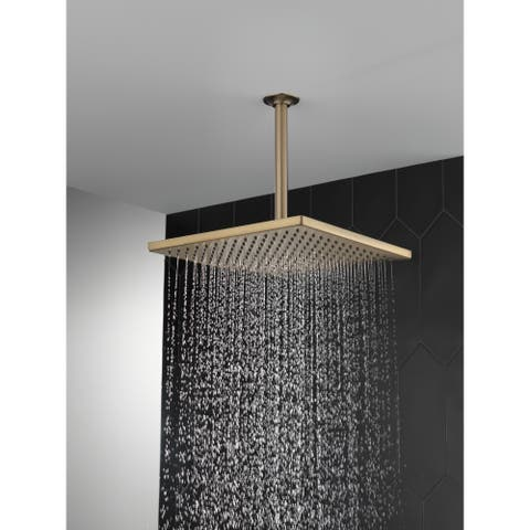 Delta Universal Showering Components Single-Setting Metal Raincan Shower Head (52159-CZ25)
