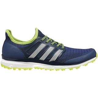 Adidas Men's Climacool  Night Marine/White/Solar Yellow Golf Shoes Q44599
