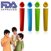 Silicone Ice Pop Maker Flexible Popsicle Makers Popsicle Molds FDA Approved