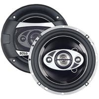"""Boss Audio P65.4C Phantom Series Speakers With Electroplate-Injection Cones (6.5"""")"""