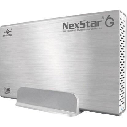"""""""Vantec NST-366S3-SV Vantec NexStar 6G NST-366S3-SV Drive Enclosure External - Silver - 1 x Total Bay - 1 x 3.5"""" Bay - USB"""