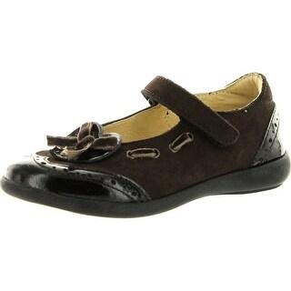 Aster Girls Emmanuelle2 Flats Shoes - brown. - 25 m eu / 8.5 m us toddler