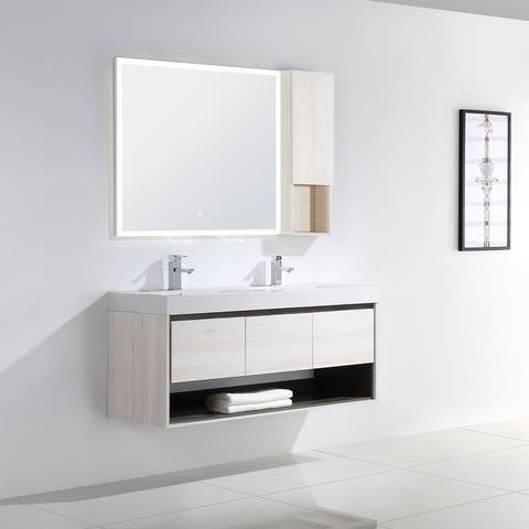 "Laila 48"" Double Bathroom Vanity Set"