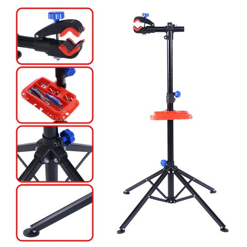 Gymax Pro Bike Adjustable Cycle Bicycle Rack Repair Stand