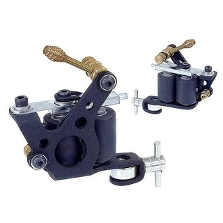 Dual Coil Liner Shader Tattoo Machine - Black | Overstock.com Shopping -  The Best Deals on Tattoos & Equipment
