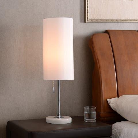 """Aria 24"""" Table Lamp - Chrome Finish"""