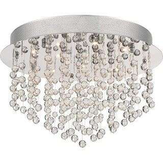 "Platinum PCHE1616 Highrise 12 Light 15.75"" Wide Flush Mount Ceiling Fixture - Polished Chrome"