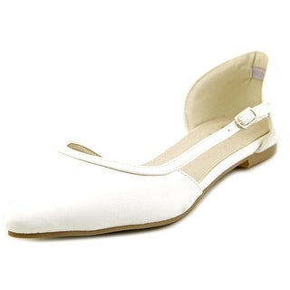 G.C. Shoes Exit Pointed Toe Synthetic Flats