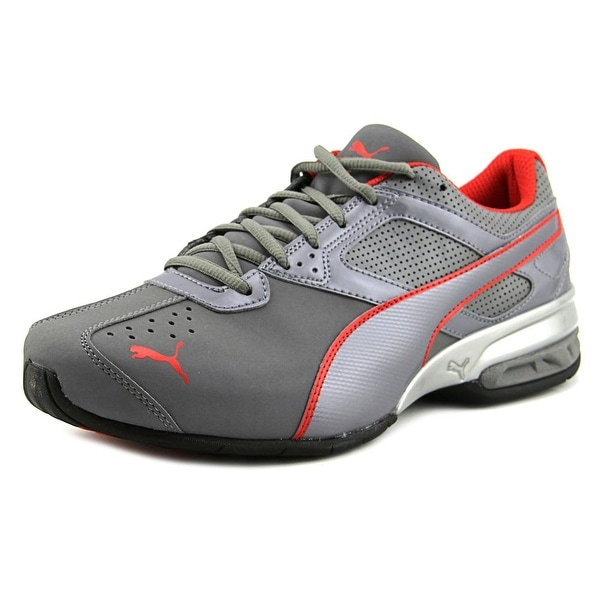 Puma Tazon 6 FM Men  Round Toe Synthetic Gray Running Shoe