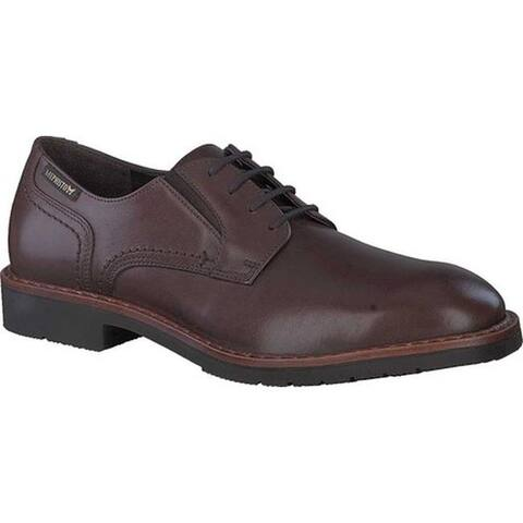 Mephisto Men's Noah Oxford Brown Antica Smooth Leather