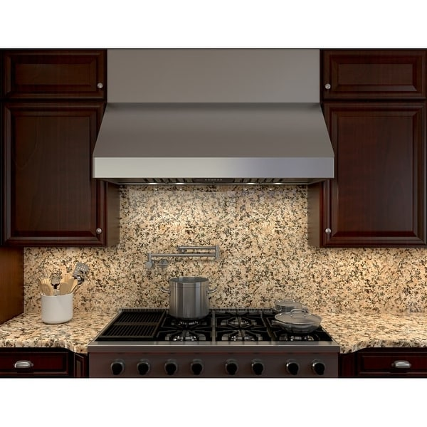 Zephyr Ak7536b 650 Cfm 36 Wide Under Cabinet Range Hood From The Tempest Ii Series