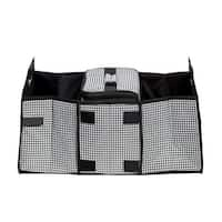 212 MAIN Houndstooth Trunk Organizer and Cooler set