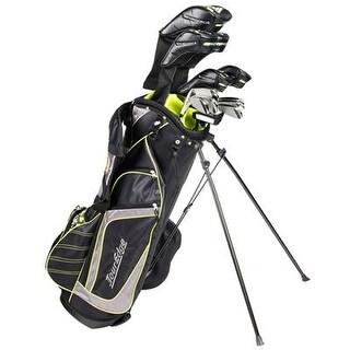Tour Edge Golf Bazooka Steel Box Full Golf Club Set, Black