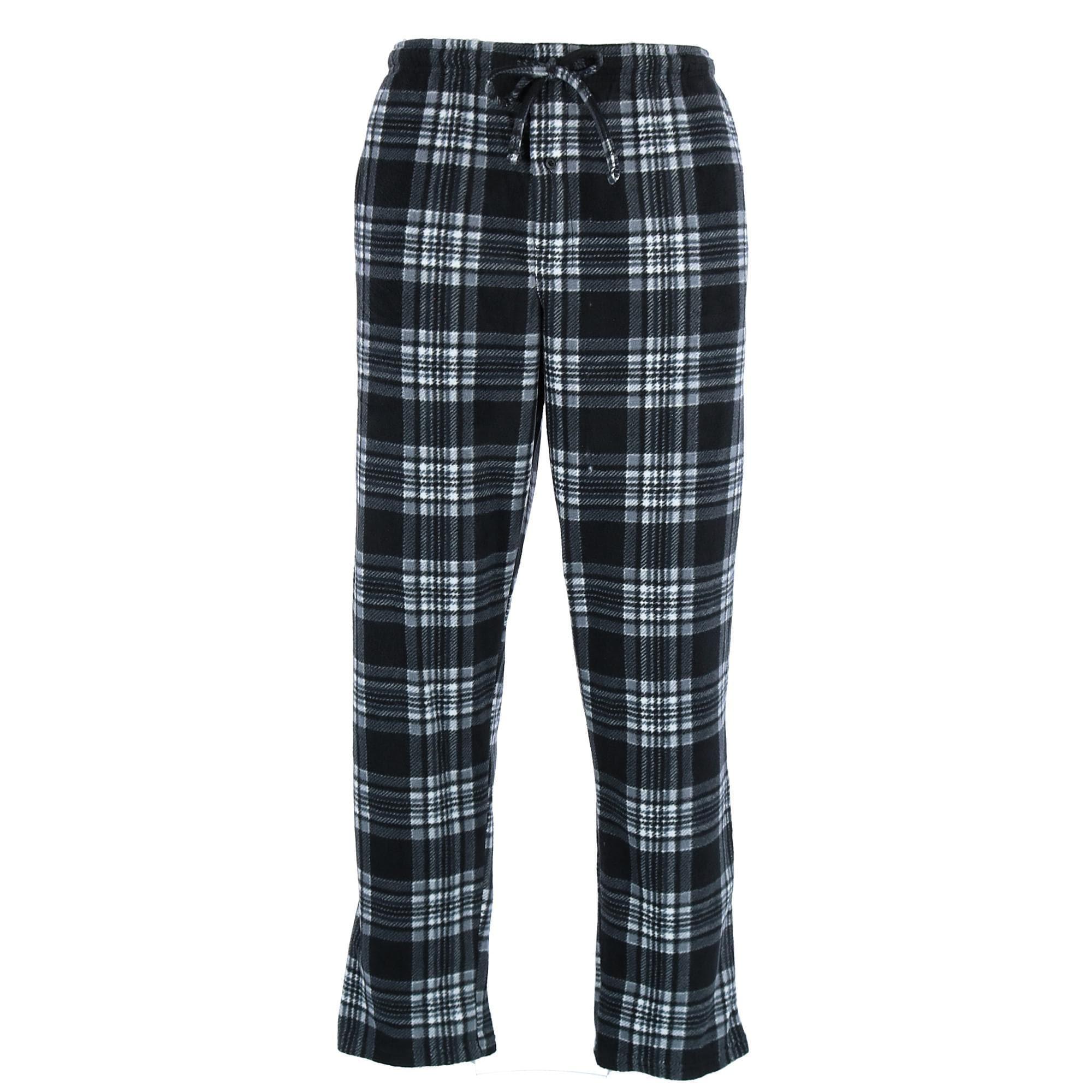 New Hanes Men/'s Fleece Pajama Pants