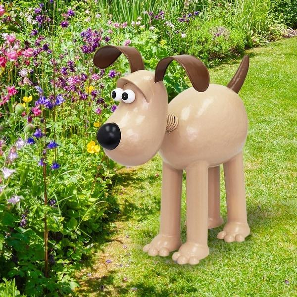 Steel Lawn Garden Outdoor Wallace /& Gromit Cousin Timmy Garden Sculpture