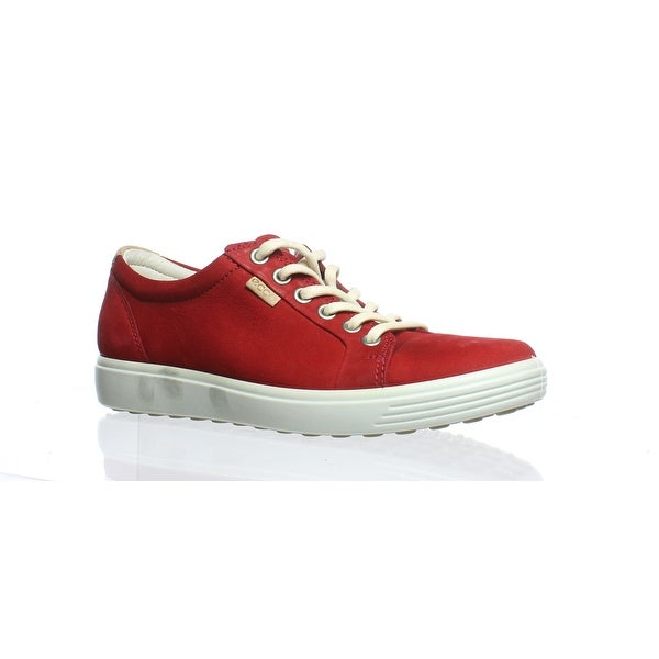 daebc9c0405eb0 Shop ECCO Womens Soft 7 Chili Red Fashion Sneaker Size 6 - Free ...