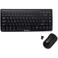 Verbatim 97472 Mini Wireless Slim Keyboard & Mouse