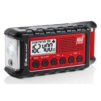 Midland Emergency Solar Hand Crank Am/Fm Digital Weather Radio