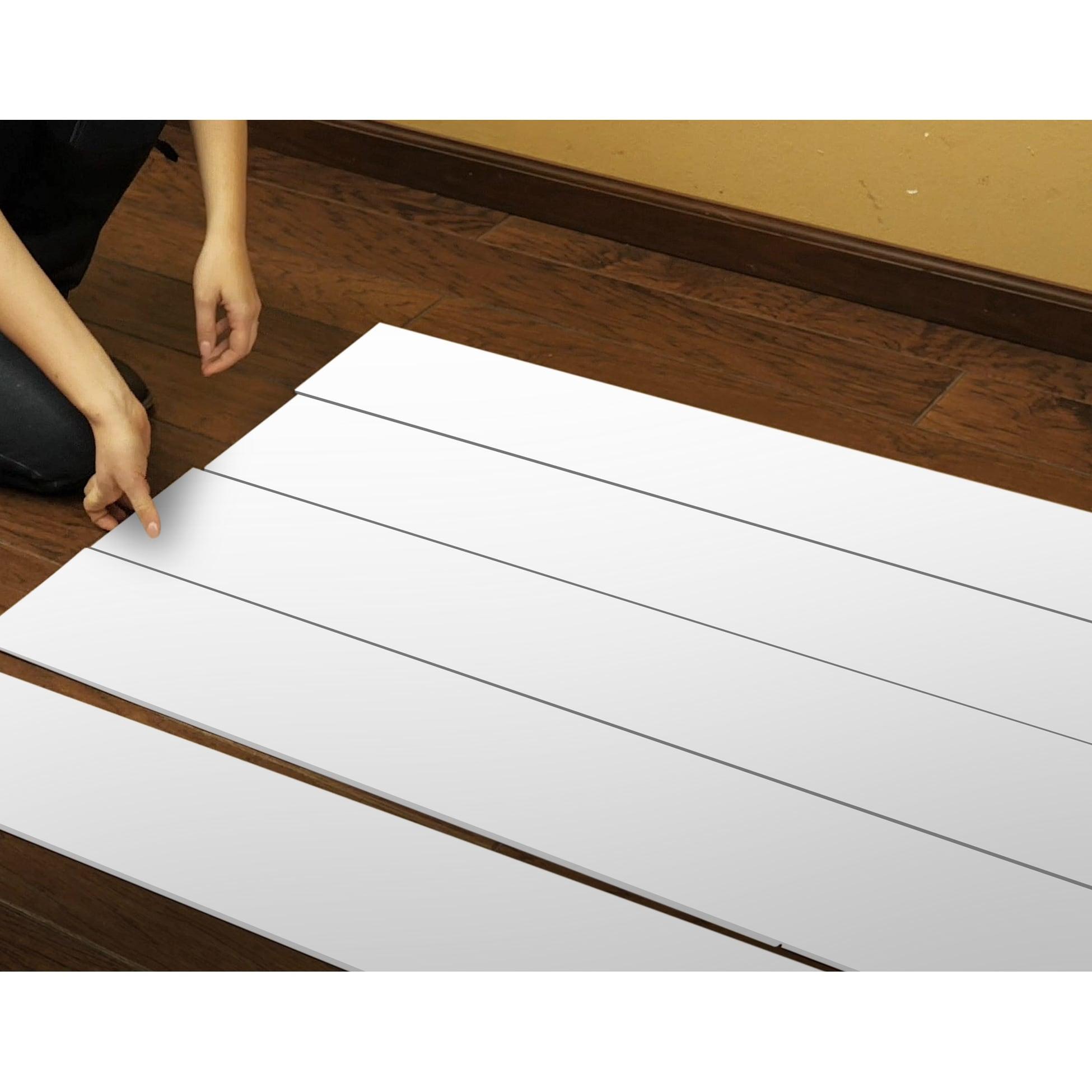 Shop Black Friday Deals On Novogratz True Shiplap Peel Stick Vinyl Real Wood Wall Panels 26 4 Sq Ft Of 7 44 Wide Panels Overstock 31961285