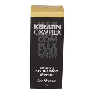 Keratin Complex Volumizing Dry Shampoo Lift Powder Blonde for Unisex, 0.31 Ounce