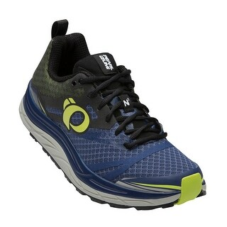 Pearl Izumi 2016/17 Men's EM Trail N 3 Running Shoe - 16116016-5HQ - blue depths/lime punch